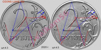 2 руб 2021 г. реверсы. - 4.3 и 4.5 сравнение