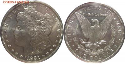 Монеты США. Вопросы и ответы - 1881 s