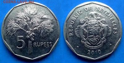 Сейшелы - 5 рупий 2010 года (Магнетик) до 22.07 - Сейшелы 5 рупий, 2010 n магн