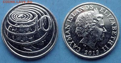 Каймановы острова - 10 центов 2013 года (Фауна) до 22.07 - Каймановы острова 10 центов, 2013