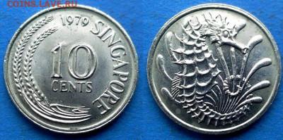 Сингапур - 10 центов 1979 года (Фауна) до 22.07 - Сингапур 10 центов, 1979