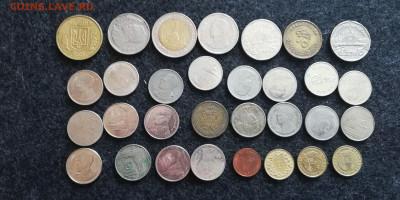 31 иностранная монета с рубля до 22.07.23 - 1