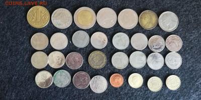 31 иностранная монета с рубля до 22.07.23 - 2
