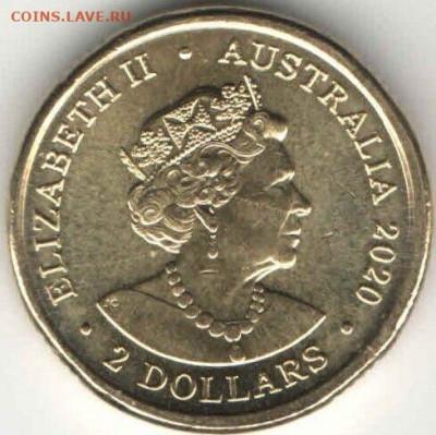 монеты с пожарной тематикой? - avstraliya-2-dollara-2020-avstraliiskie-pozharnye-fire-unc-photo-f33d