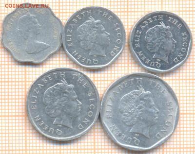 Восточные Карибы 5 монет, до 25.07.2021 г. 22.00 по Москве - Вост Карибы 5 монета 3125