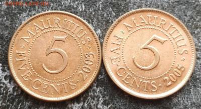 (АКЦИЯ) МАВРИКИЙ 2шт. по 5 центов с РУБЛЯ до 23.07.21 - IMG_20210720_130000__01
