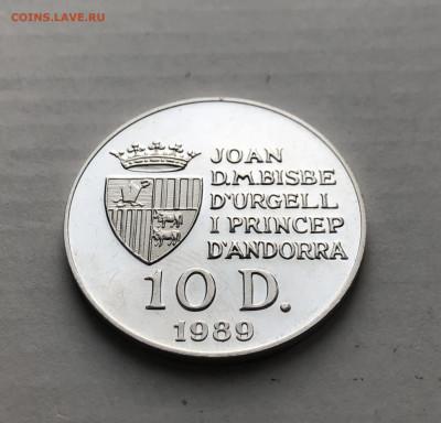 Андорра 10 динеров, 1989, до 26.07. - 2np6OzTgtjY (1)