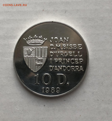 Андорра 10 динеров, 1989, до 26.07. - TWubXiRvU_c