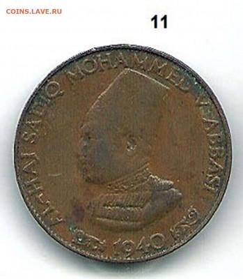 2 пайса, 1940 год. Медь. - Индийские княжества  11 аверс