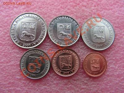 -Иностранных монет наборы- темус дополняемус - Венесуэла 2007-2009-100р (1).JPG