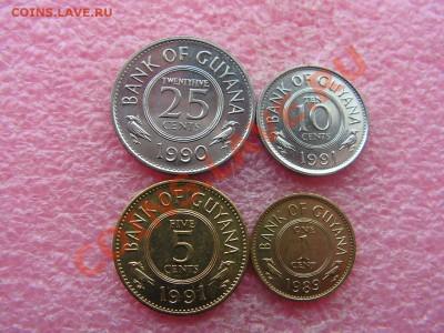 -Иностранных монет наборы- темус дополняемус - Гайана 1989-1991-70р.JPG
