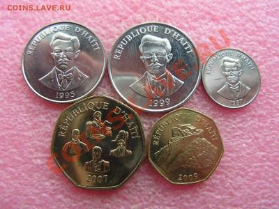 -Иностранных монет наборы- темус дополняемус - Гаити 1995-2009-250р.JPG