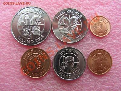 -Иностранных монет наборы- темус дополняемус - Исландия 1981-2008-180р (1).JPG