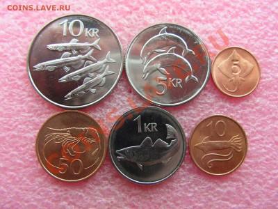 -Иностранных монет наборы- темус дополняемус - Исландия 1981-2008-180р.JPG