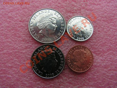 -Иностранных монет наборы- темус дополняемус - Каймановы 2008-150р (1).JPG