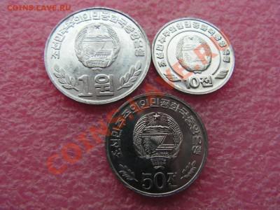 -Иностранных монет наборы- темус дополняемус - КНДР-2002-100р (1).JPG