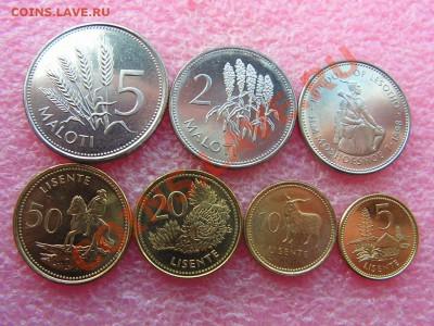 -Иностранных монет наборы- темус дополняемус - Лесото-240р.JPG