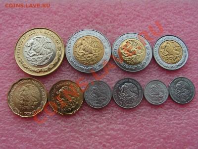 -Иностранных монет наборы- темус дополняемус - Мексика 2001-2009-260р (1).JPG
