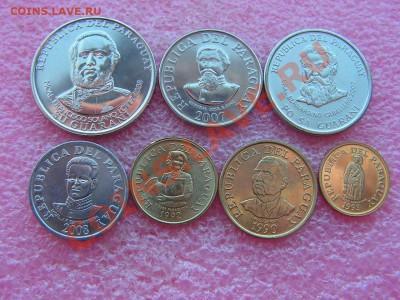 -Иностранных монет наборы- темус дополняемус - Парагвай-160р (1).JPG