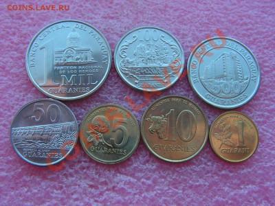 -Иностранных монет наборы- темус дополняемус - Парагвай-160р.JPG