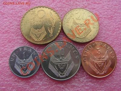 -Иностранных монет наборы- темус дополняемус - Руанда 1977-87-240р.JPG