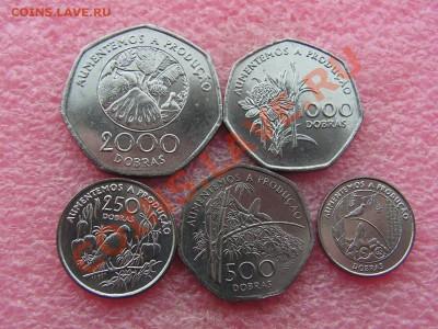 -Иностранных монет наборы- темус дополняемус - Сан-Томе 1997-260р.JPG