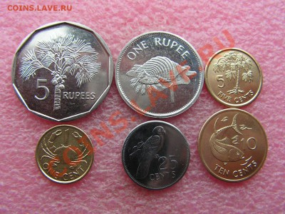 -Иностранных монет наборы- темус дополняемус - Сейшелы 1997-2004-160р.JPG