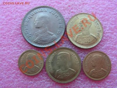 -Иностранных монет наборы- темус дополняемус - Таиланд 1957-1962-120р.JPG
