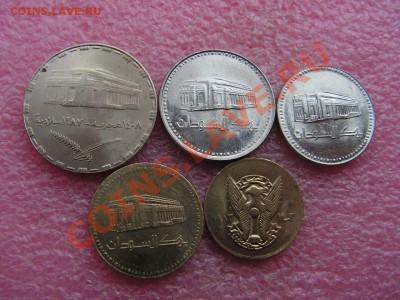 -Иностранных монет наборы- темус дополняемус - Судан 1983-1994-160р.JPG