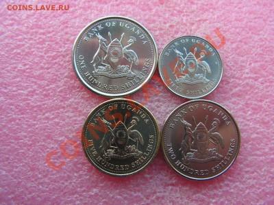-Иностранных монет наборы- темус дополняемус - Уганда-140р (1).JPG