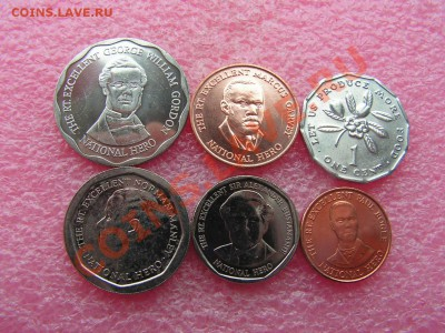 -Иностранных монет наборы- темус дополняемус - Ямайка-130р.JPG