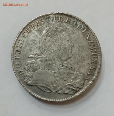 Саксония 1 талер 1763 год. На подлинность и оценку - IMG_20210915_160202