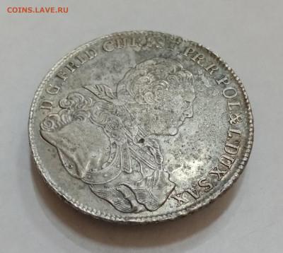 Саксония 1 талер 1763 год. На подлинность и оценку - IMG_20210915_160238