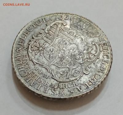 Саксония 1 талер 1763 год. На подлинность и оценку - IMG_20210915_160305