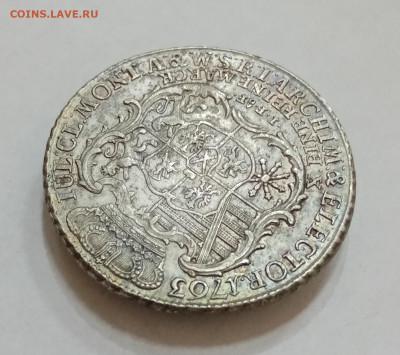 Саксония 1 талер 1763 год. На подлинность и оценку - IMG_20210915_160317