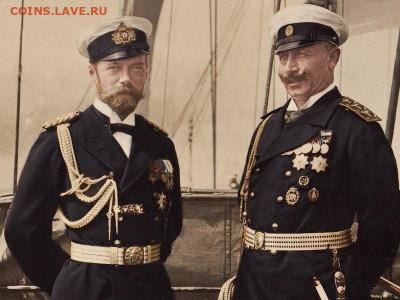 Пруссия. Император Вильгельм II. 5 МАРОК 1913 года. UNC. - 5 Мар 1913