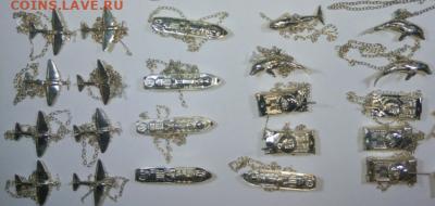 Интересуют водочные жетоны - фигурки стандартъ еще