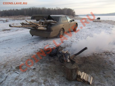 Братский район старая Тэмь - заготовка дров.JPG