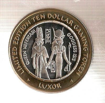 Монеты 10$ - Luxor1.JPG