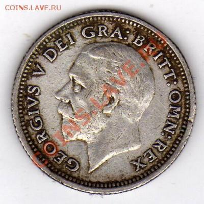 Ag Великобритания 6 пенсов 1927 до 16.01-22ч (1189) - img069