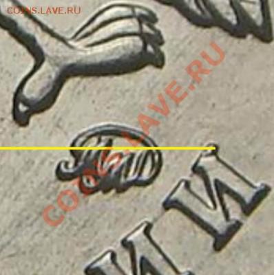Алгоритм определения аверса 1руб ММД 2010 - А