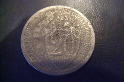 Монета 20 коп предположительно 1934 года - монета_1