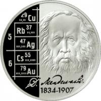 Учёный-энциклопедист Д.И. Менделеев - 175 лет со дня рождения реверс