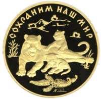Амурский тигр реверс