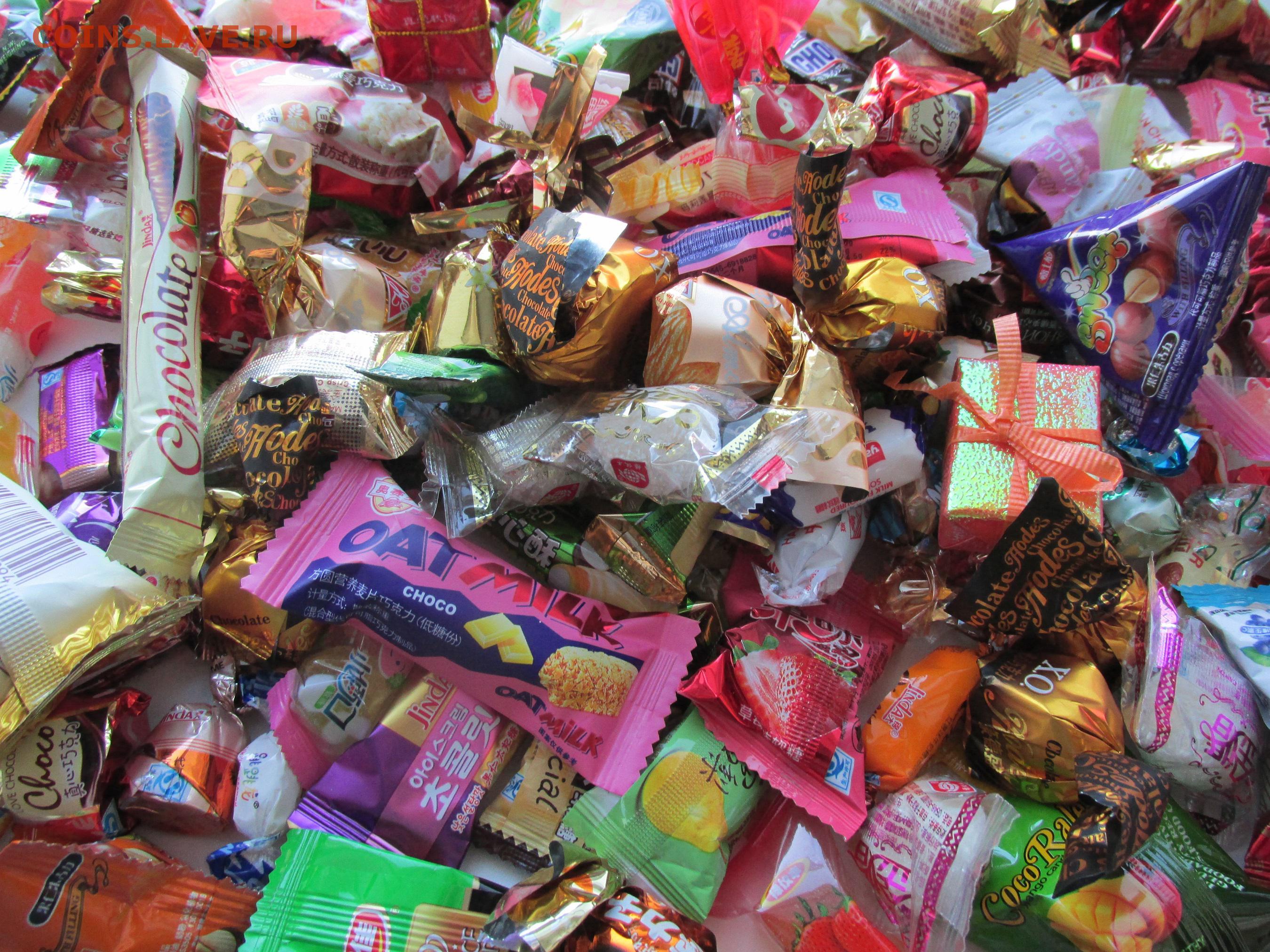 Подарки с конфетами на новый год фото
