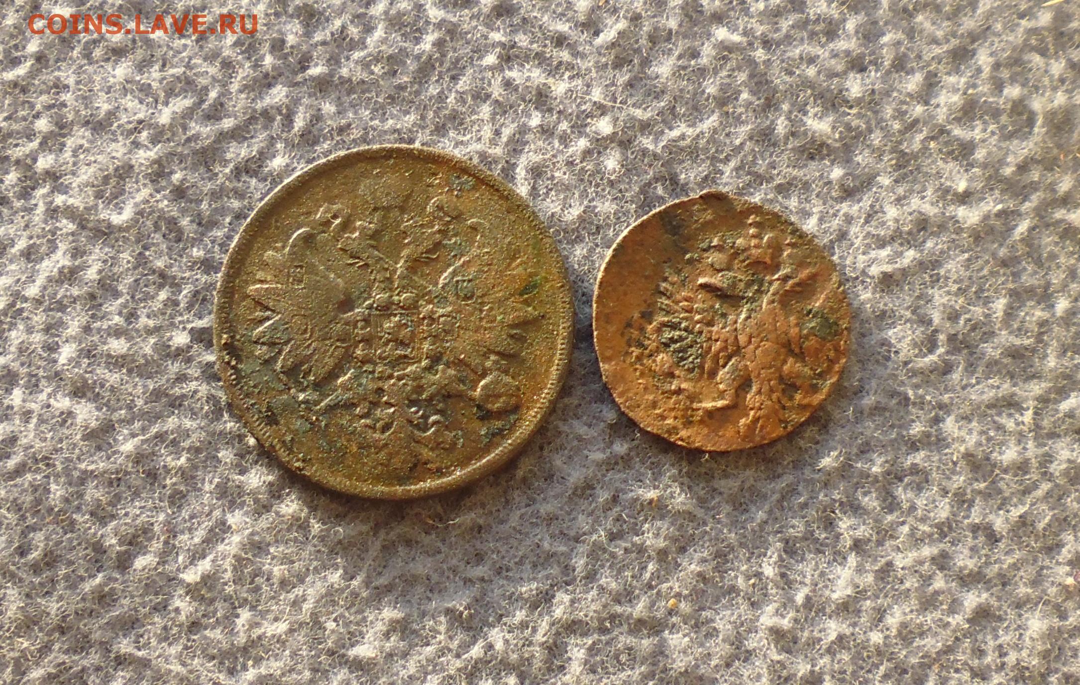 Полушка (1/4 копейки) 1751(?