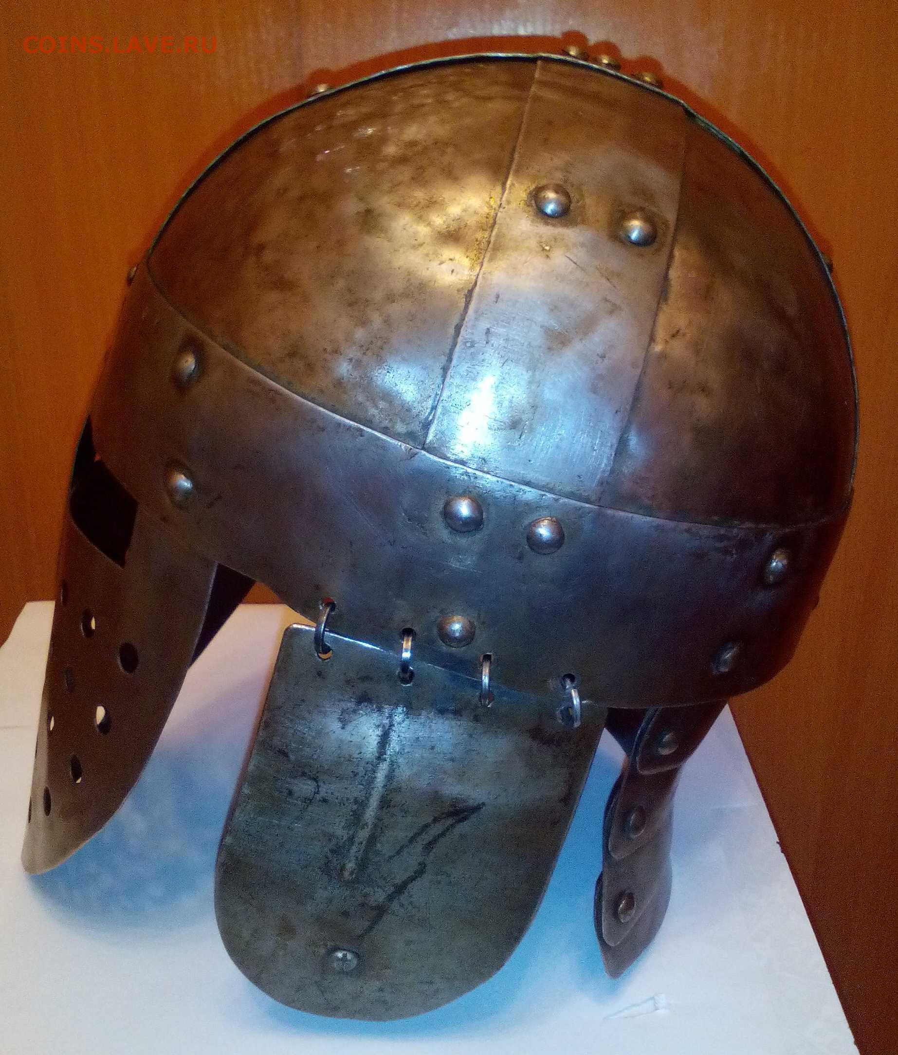 Как выковать шлем своими руками 21